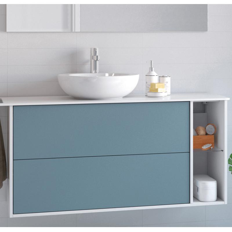 plan compact pour vasque meuble. Black Bedroom Furniture Sets. Home Design Ideas
