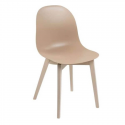 Chaise ACADEMY CB/1665 Calligaris taupe
