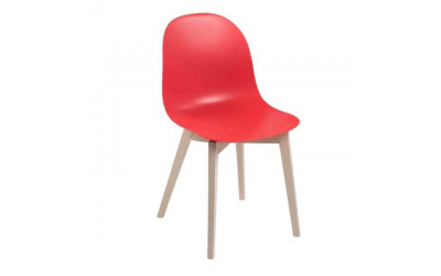 Chaise ACADEMY CB/1665 Calligaris rouge