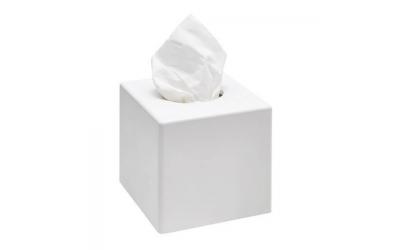 Boîte à mouchoir carré