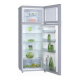 Réfrigérateur / Congélateur 2 portes à poser silver