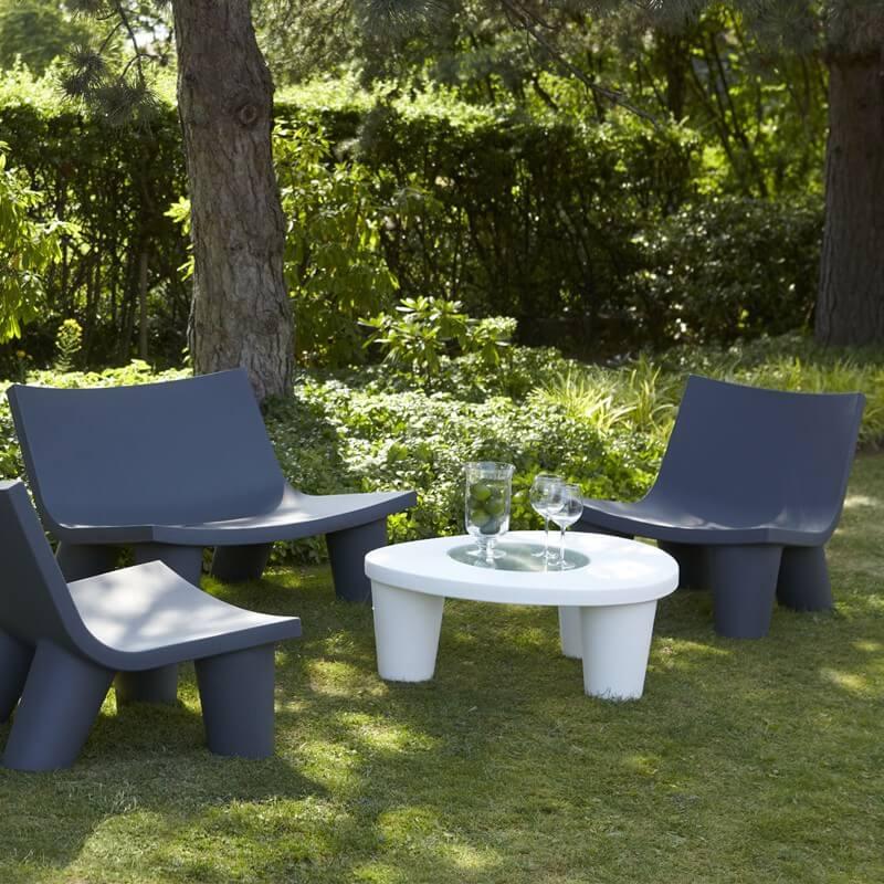 canap low lita love 2 places mobilier professionnel pour terrasses. Black Bedroom Furniture Sets. Home Design Ideas