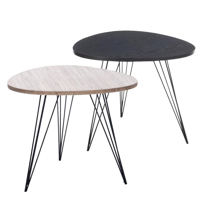 Table gigogne vero mobilier for Table gigogne but