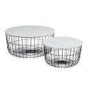 Set 2 Tables gigognes FARA