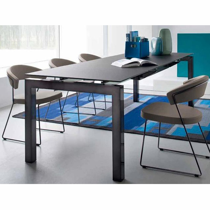 chaise new york cb 1022 sk calligaris connubia baltys h tellerie. Black Bedroom Furniture Sets. Home Design Ideas