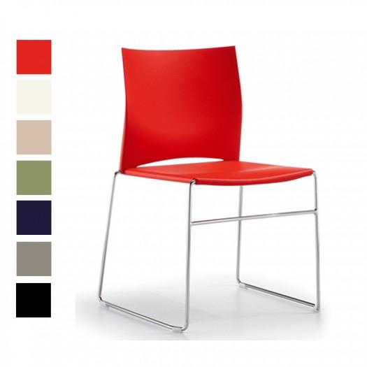 chaise lino empilable pour salle de s minaire chaises de reunion. Black Bedroom Furniture Sets. Home Design Ideas
