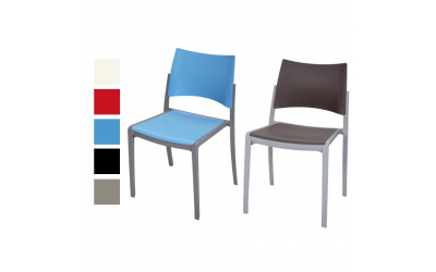 Chaise empilable KOBI