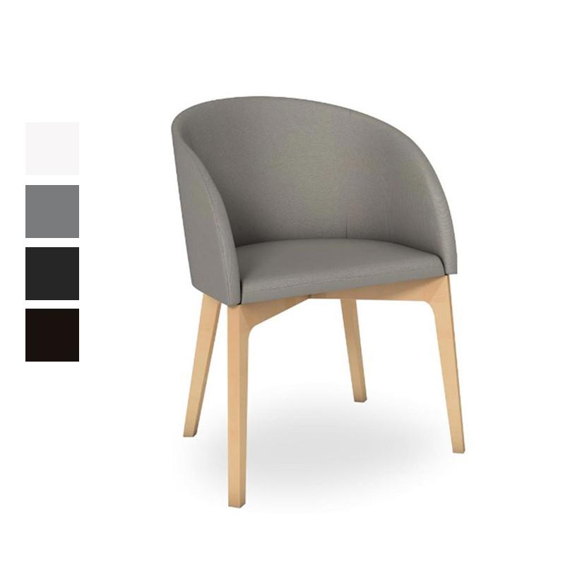 chaise rosie cb 1538 calligaris h tellerie et bureaux baltys. Black Bedroom Furniture Sets. Home Design Ideas