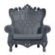 Fauteuil Queen of Love gris (Slide Design)