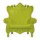Fauteuil Queen of Love vert (Slide Design)