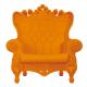 Fauteuil Queen of Love orange (Slide Design)