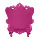 Fauteuil Queen of Love rose (Slide Design)