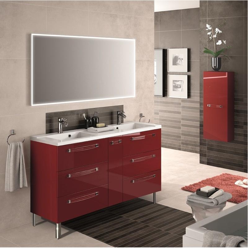 brooklyn meuble 140cm poser - Meuble Sous Vasque 140 Cm