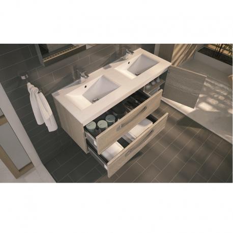 meuble sous vasque brooklyn 120 cm suspendre meuble. Black Bedroom Furniture Sets. Home Design Ideas