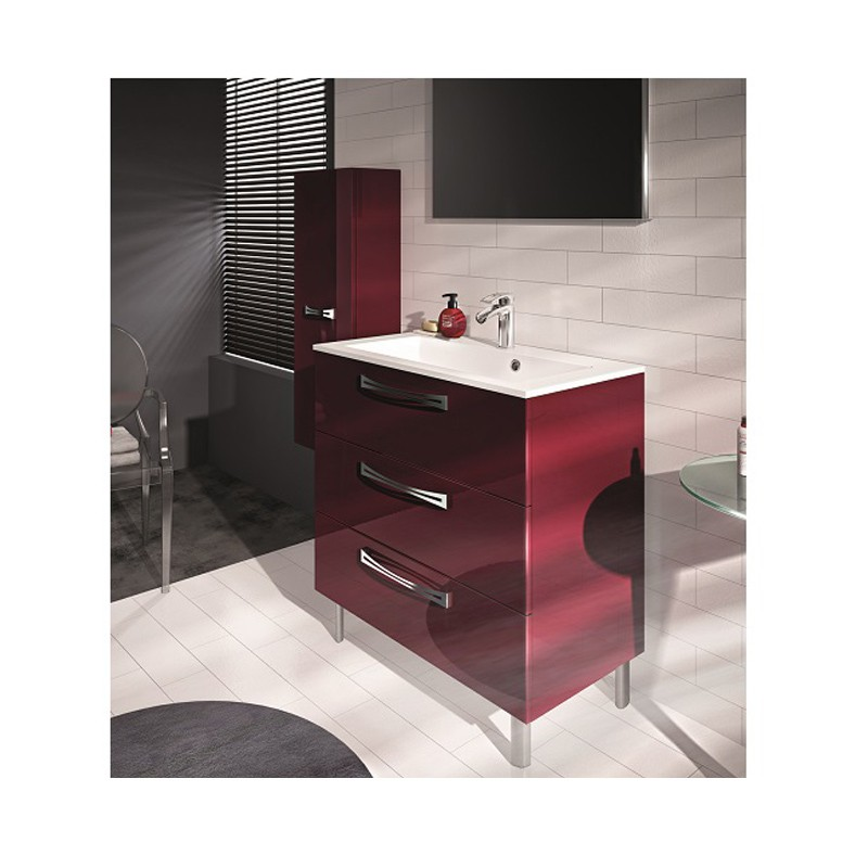 meuble sous vasque brooklyn 80cm poser meuble. Black Bedroom Furniture Sets. Home Design Ideas