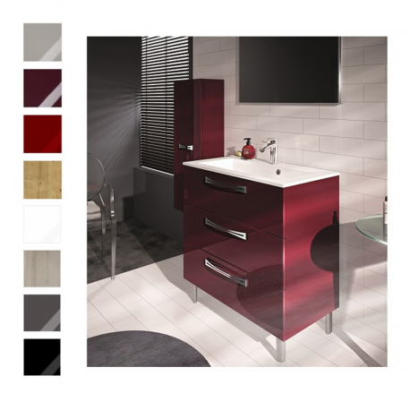 meuble sous vasque brooklyn 80cm poser meuble. Black Bedroom Furniture Sets. Home Design Ideas