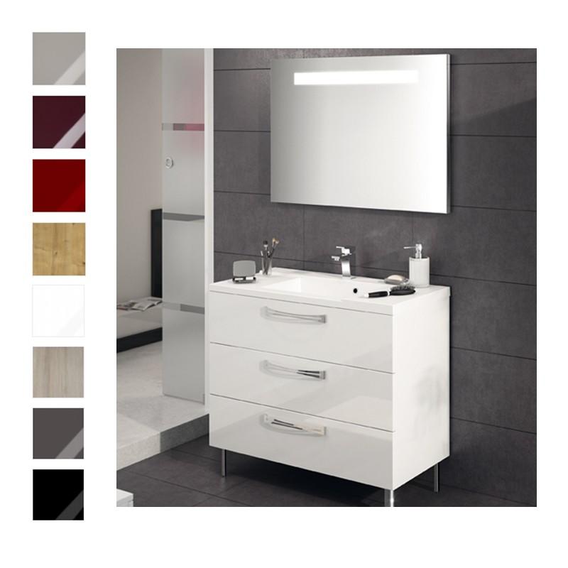 meuble sous vasque brooklyn 100cm poser meuble. Black Bedroom Furniture Sets. Home Design Ideas