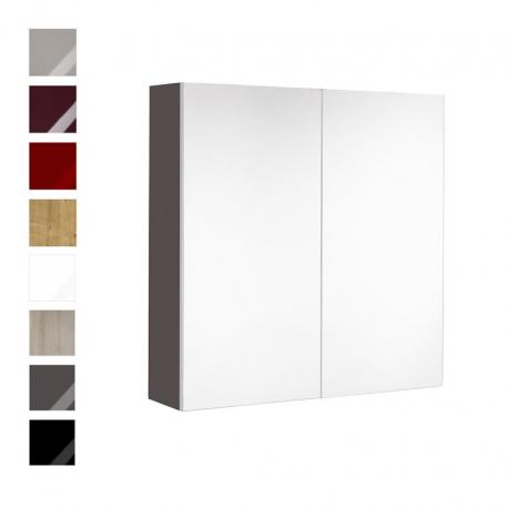 armoire de toilette 80 cm meuble. Black Bedroom Furniture Sets. Home Design Ideas