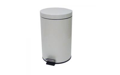 Poubelle 12 Litres blanche sanitaire