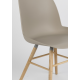 Chaise Albert Kuip taupe Zuiver