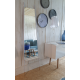 Miroir LEANING WHITE de Zuiver