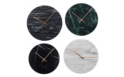 Horloge MARBLE / Horloge marbre Zuiver