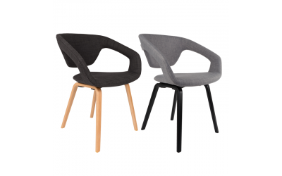 Chaises FLEXBACK ZUIVER