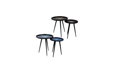Lot de 2 tables d'appoint FLOW Zuiver