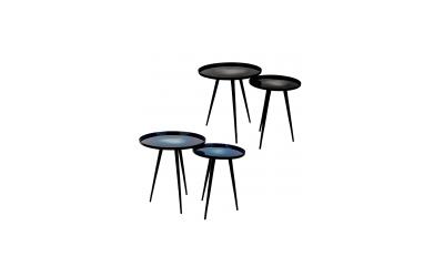 Lot de 2 tables d'appoint FLOW Zuiver