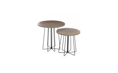 Set de 2 tables RONDA DUO
