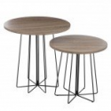 Set de 2 tables RONDA DUO