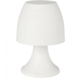 Lampe chargeur USB en plastique blanc