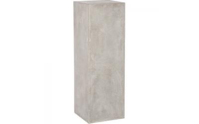 Colonne rectangle grise