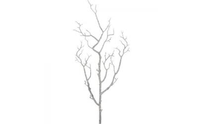 Branche arbre nu White Wash