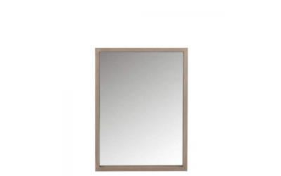 Miroir rectangle en bois naturel
