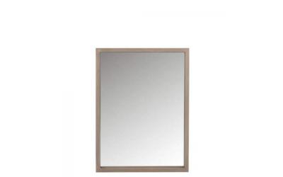 Miroir rectangle en bois naturel