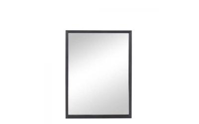 Miroir rectangle en bois noir