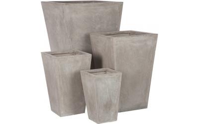 Set de quatre cache-pots NATHANIEL