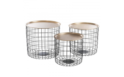 Set de 3 tables gigognes PANI